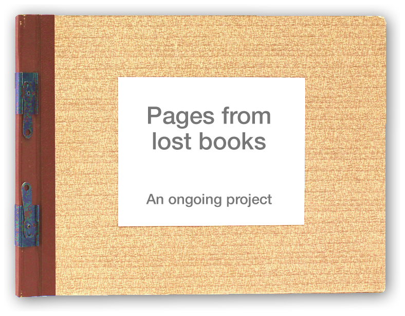 Pages from Lost Books
