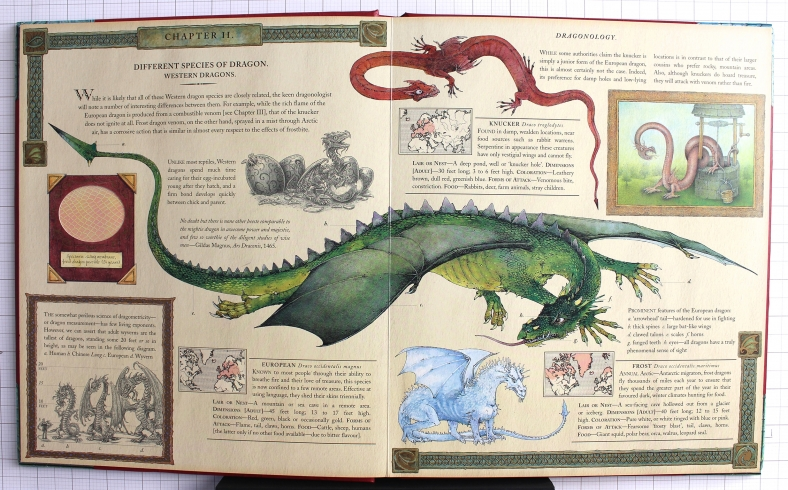 Dragonology Spread